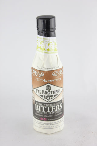 Fee Brothers Whiskey Barrel-Aged Bitters 5 oz
