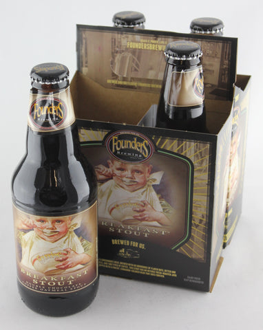 Founders Breakfast Stout 12 oz Four Pack