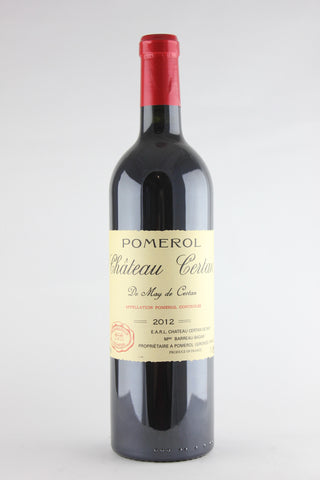 Chateau Certan de May 2012 Pomerol
