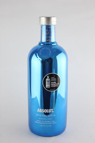 Absolut Electrik Vodka 750 ml Metallic Blue
