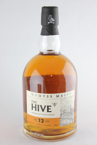 Wemyss The Hive Aged 12 Years Blended Malt Scotch Whiskey