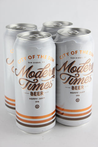 Modern Times City of Sun IPA Four Pack Cans