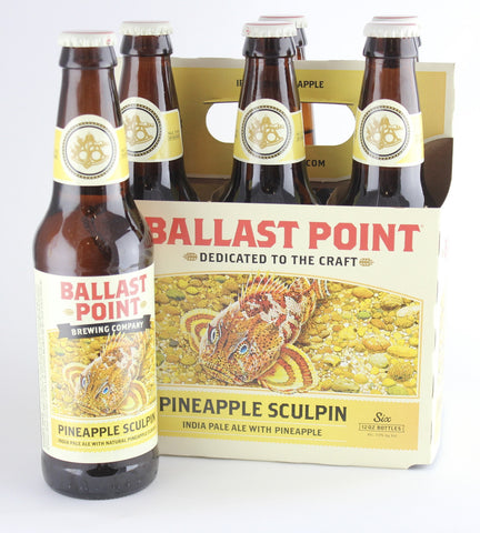 Ballast Point Pineapple Sculpin IPA Six Pack
