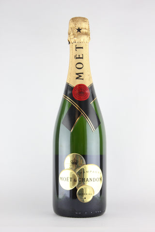 Moet & Chandon Imperial Brut Champagne Festive Bubbly Label