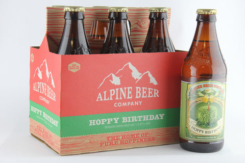 Alpine Hoppy Birthday 12 oz Six Pack