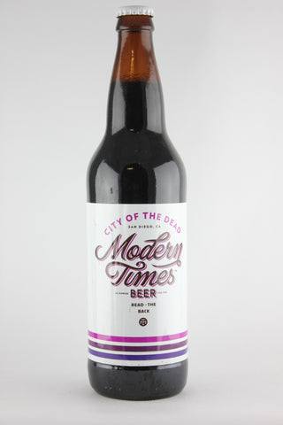 Modern Times City of the Dead Stout 22 oz