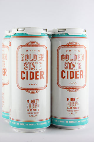 Golden State Cider Mighty Dry Four Pack Cans
