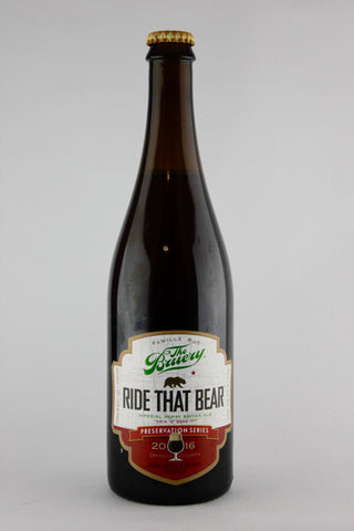 The Bruery 2016 Ride That Bear Imperial Hoppy Brown Ale 750 ml