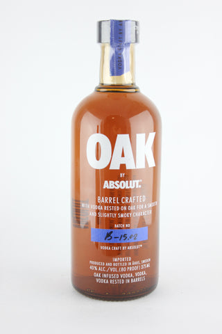 Absolut Oak Barrel-Aged Vodka 375 ml