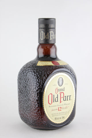 Grand Old Parr Blended Scotch Whisky Aged 12 Years 750 ml