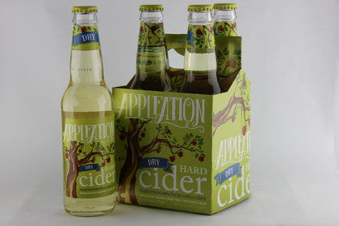Appleation Dry Hard Cider Four Pack