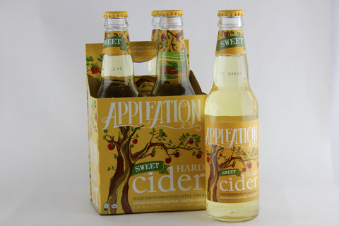 Appleation Sweet Hard Cider Four Pack