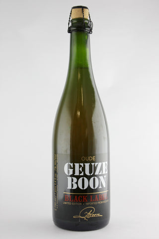 Boon Oude Geuze Lambic Ale Black Label Limited Edition 750 ml