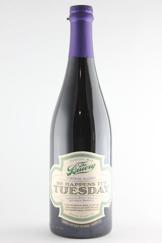 The Bruery So Happens It's Tuesday Imperial Stout 750 ml