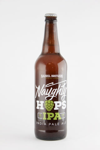 Barrel Brothers Naughty Hops IPA 22 oz
