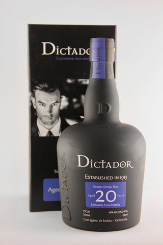 Dictador 20 Year old Solera Rum
