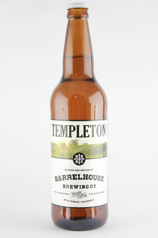 Barrelhouse Templeton Kolsch 22 oz