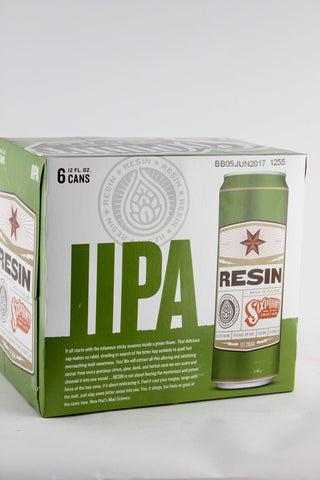 Sixpoint Resin Double IPA 12 oz Six Pack Cans