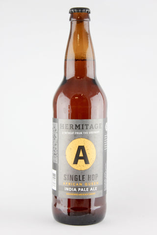 Hermitage Brewing African Queen Single Hop IPA 22 oz