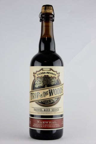 Sierra Nevada Narwhal Trip in the Woods: Barrel-Aged Narwhal with Currants  Imperial Stout 750 ml