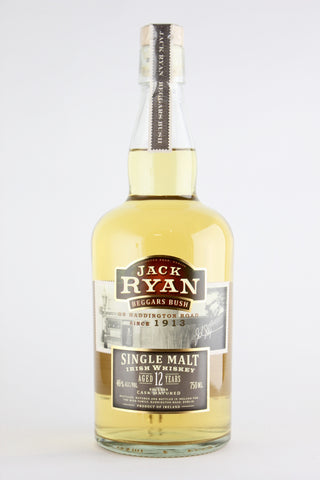 Jack Ryan Beggars Bush 12 Years old Single Malt Irish Whiskey