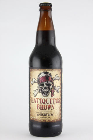 Epidemic Ales Batiquitos Brown Ale 22 oz