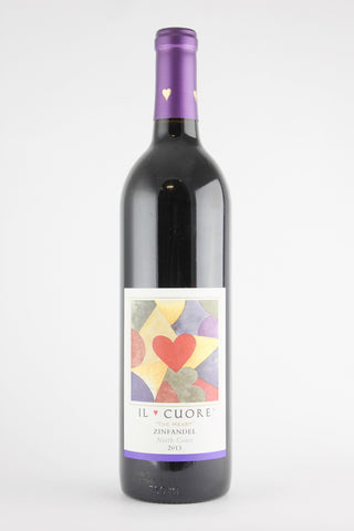 "Il Cuore 2013 Zinfandel ""The Heart"" North Coast"