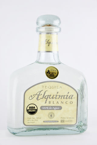 Tequila Alquimia Blanco 100% Agave