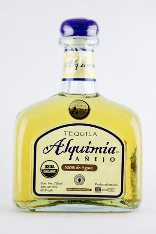 Tequila Alquimia Anejo 100% Agave