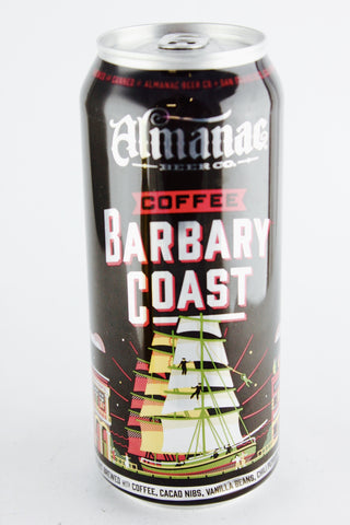 Almanac Barbary Coast Coffee Imperial Stout 16 oz Can