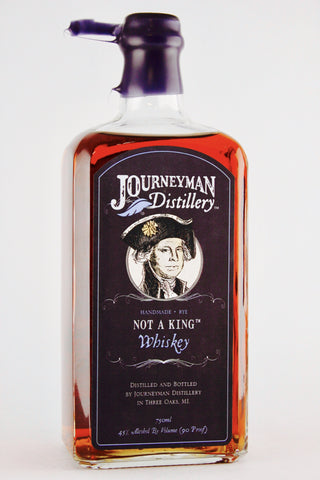 "Journeyman Distillery ""Not a King"" Rye Whiskey"