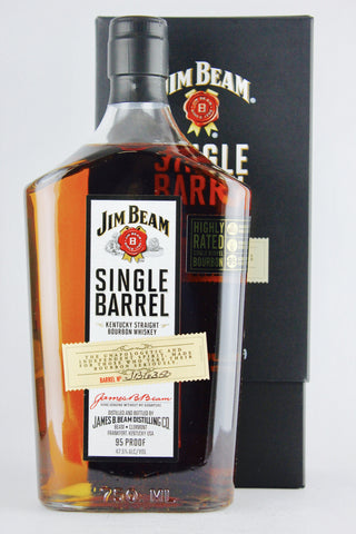 Jim Beam Single Barrel Bourbon 95 Proof