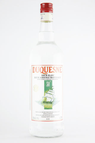 Duquesne Rhum Blanc Rhum Agricole Martinique 50° 1000 ml