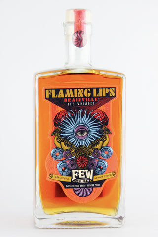 "FEW Spirits/ Flaming Lips ""Brainville"" Rye Whiskey"