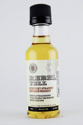 Rebel Yell Straight Bourbon Whiskey 50 ml