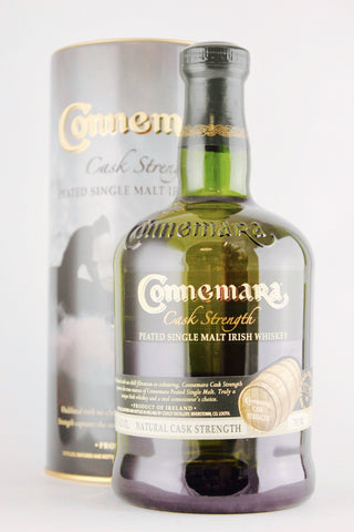 Connemara Cask Strength Peated Single Malt Irish Whiskey 57.9%
