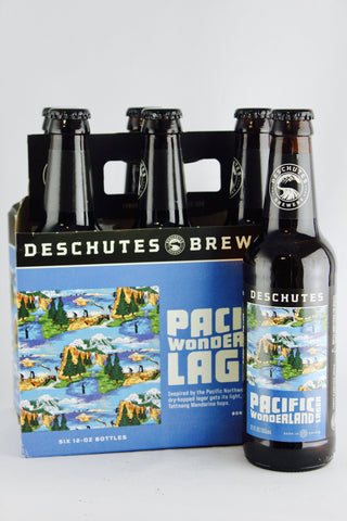 Deschutes Pacific Wonderland Lager 12 oz Six Pack