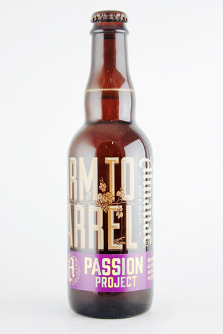 Almanac Passion Project Farm to Bottle Farmhouse Ale 375 ml