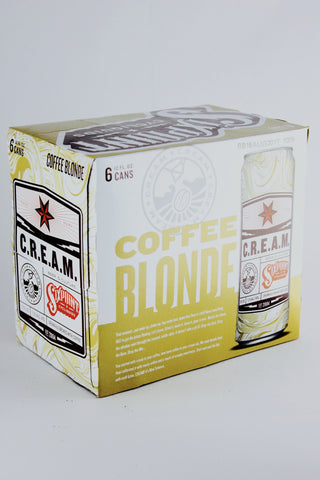 Sixpoint C.R.E.A.M. Coffee Blonde 12 oz Six Pack Cans
