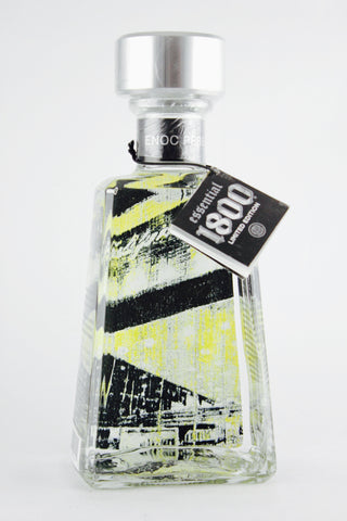 1800 Tequila California Edition Enoc Perez Artists Series Silver Limited Edition