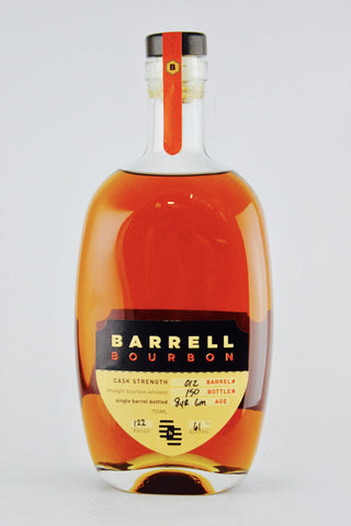Barrell Batch #012 Cask Strength Single Barrel Bourbon