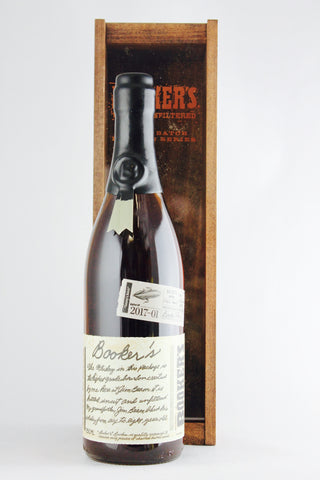 "Booker's Bourbon 2017-01 ""Tommy's Batch"" Bourbon Whiskey 128.5 Proof"