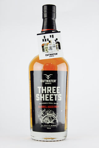 Cutwater Spirits Three Sheets California Small Batch Barrel-Aged Rum