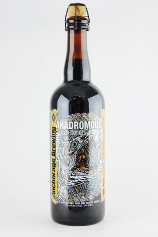 Anchorage Brewing Anadromous Black Sour Ale 750 ml