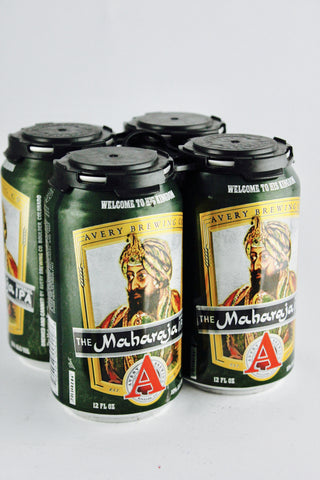 Avery Maharaja Triple IPA Four Pack Cans