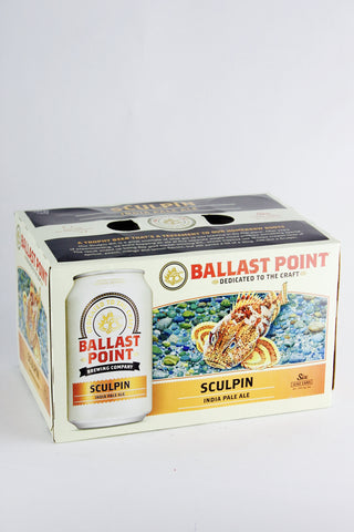 Ballast Point Sculpin Six Pack Cans