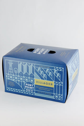 Fort Point Villager San Francisco-Style IPA six-pack cans
