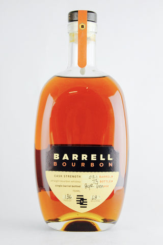 Barrell #021 Cask Strength Single Barrel Bourbon