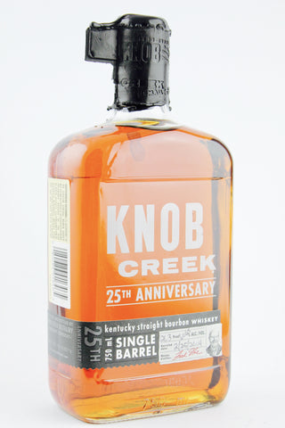 Knob Creek Cask Strength Bourbon 25th Anniversary Limited Edition
