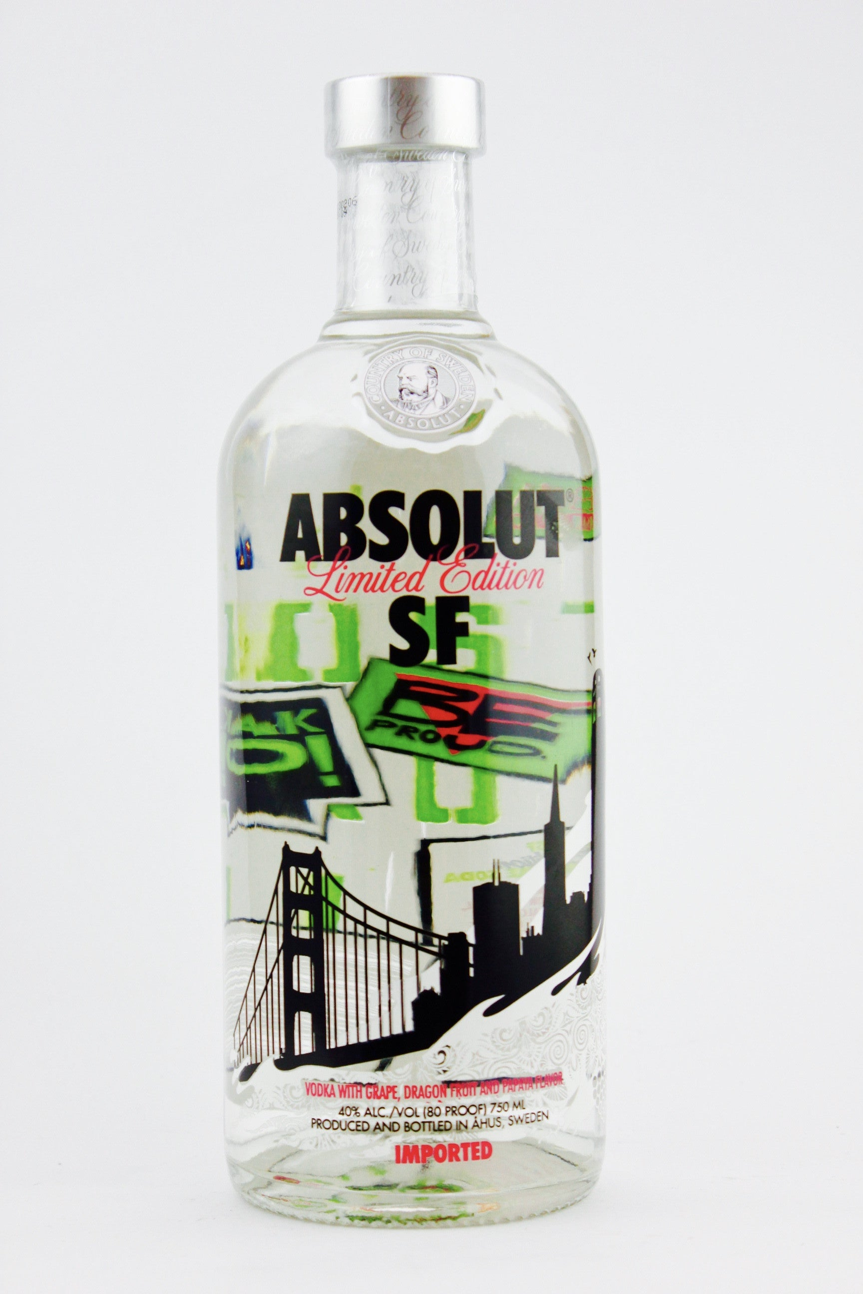 Welp Absolut San Francisco Limited Edition Vodka | Blackwell's Wines KW-98